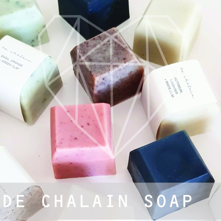 Made in Melbourne in small batches by our mother daughter team, all de Chalain products contain natural, organic and carefully selected ingredients to ensure that every product we make is something we are proud to put our name to.    Unable to find a soap bar that was organic while also being cruelty free and that didn't irritate my skin, I decided to learn how to make my own. I wanted a product that I was happy to put on my skin without worrying about nasty chemicals, and that would leave my skin feeling moisturised and refreshed.And so, de Chalain soap bars were born!     All of our soap bars are cruelty free, vegan, palm oil free, organic and made with care in small batches. Our ingredients are sustainably sourced and you can be sure that no animals (or humans) have been harmed while you are enjoying your soap!