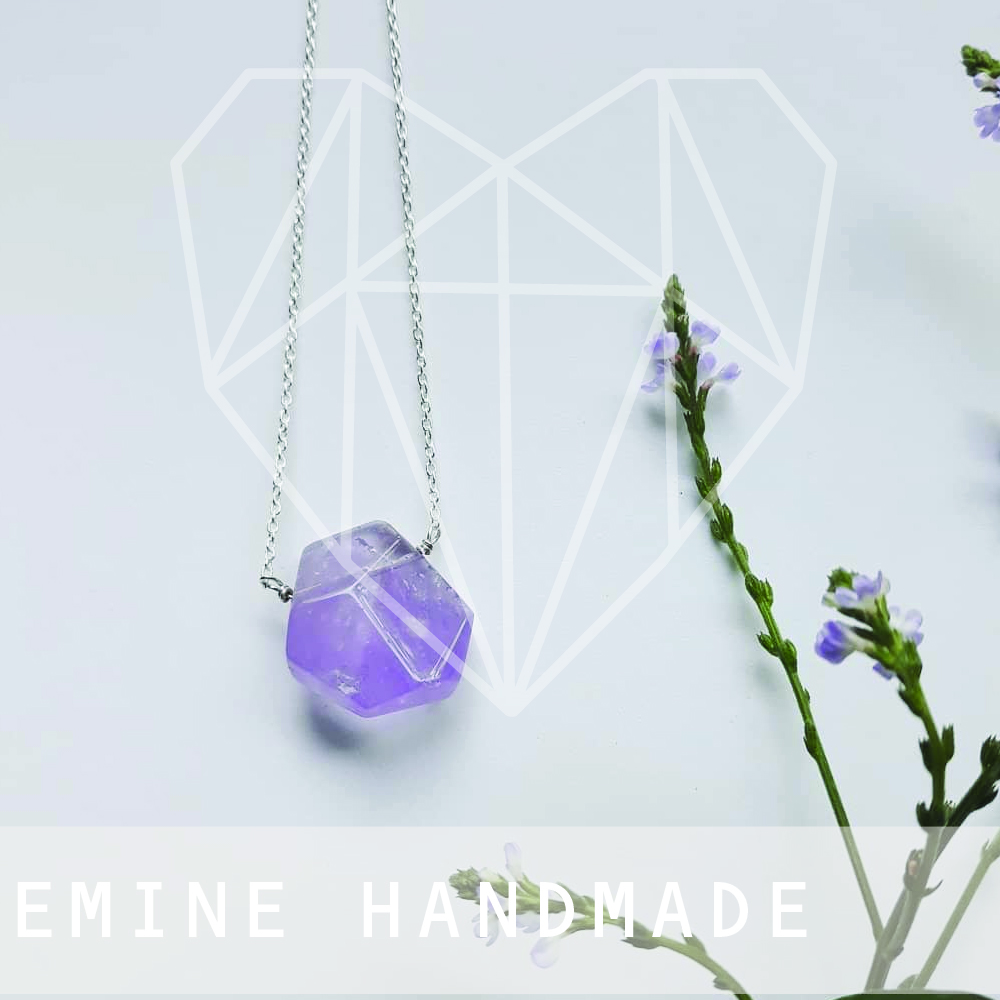 Emine completed her Advanced Diploma of Engineering Technology (Jewellery) in 2008.     Prior to that she studied Complementary Therapies (Holistic Healing) and worked as a Holistic Healer, it was then she discovered a great love of crystals – gemstones in their more natural state.     Emine was fascinated with the way the crystals looked – such unique and natural beauty created by the earth itself.
