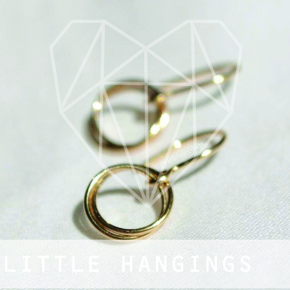 Little Hangings is a Melbourne-based, handmade jewellery label founded in 2015 by jeweller Renee Serraglio. Since its conception, Little Hangings has grown from a love of distinctive designs and effortless adornment.  Little Hangings incorporates the best of both minimalistic and statement jewellery to bring you a range of uniquely fashionable designs that can be worn through every occasion. Each piece is designed and meticulously hand crafted in Melbourne using mostly local and recycled materials, and as such, every piece is distinct and unlike any other in existence.  Little Hangings tries to keep in mind the environmental impacts and ethical implications of all aspects of their brand, from packaging, to display items, to the production process. Little Hangings strives to strike a harmonious balance between using materials designed for longevity, and producing products that are affordable.  Little Hangings is also passionate about women's rights and donates 50% of the cost of each piece sold from their Jewellery for Justice Collection to organisations that are committed to helping put a stop to violence against women.